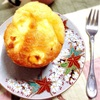 【試作】クリームチーズの低糖マフィン