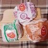 マクドナルドのごはんバーガー食べ比べ