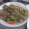 幸運な病のレシピ( 1892 )朝:もやし炒め、鮭、ウインナ、味噌汁、マユのご飯