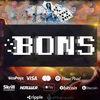 【当サイト限定】BONSカジノに登録して入金不要ボーナス40ドルを受け取ろう!