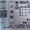 今日の馬券~谷川岳S・鞍馬S・NHKマイルカップ~