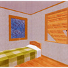 屋内3D画像公開~子供部屋~