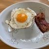 豚すき焼き のり弁 イトーヨーカドー ベーコンエッグ