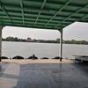 バンコク郊外の癒しスポットでチャリを漕ぐ