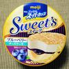 明治 エッセルスーパーカップ Sweet's ブルーベリーチーズケーキ