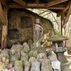 子どもの健やかな成長を祈願する北村磨崖仏 大分県杵築市 鴨川
