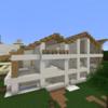 【Minecraft】木の豪邸を作る② 内装編【コンパクトな街をつくるよ27】