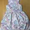 【手作り】H&M風 子供服 ワンピース 作りました!!③