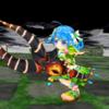 【白猫日記】夏ガチャ2th「サマーバージョン・ツユハ」使用感紹介 まるでシューティングゲーム!移動しながら撃ちまくるS2が強い!