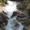 初めての本格沢登りでヒヤヒヤでした