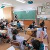 1年生:道徳 隣の組の先生が授業