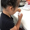 ピアノ教室の朝(3歳9カ月)