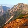 白馬岳。8月下旬。