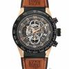 【2017バーゼルの時計展の新作】タイ格HOYACarerraはアカザを押さえてシリーズHeuer―01バラの金の腕時計を引き延ばします