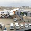 ANA NH6便ビジネスクラス 成田からロサンゼルス経由でラスベガスへ、APC(自動入国審査端末)すべて故障!!