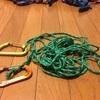 小川張り用のロープを自作