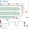 第三回文学フリマ福岡のブース配置図を、PDFで公開