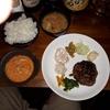 【wacca】関目で頂くジューシーでスパイシーなラムケバブとカレー、スパイスおかずの定食!豚汁もスパイス感満載の定食を堪能!