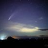 【天体撮影記 第136夜】 夜の帳が下り、ネオワイズ彗星(C/2020 F3)が夜空を彩る
