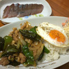 鶏肉のバジル炒めご飯