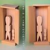 木製人形代という祭祀具 人の形をしているところがポイント