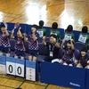 白子高校 女子学校対抗一回戦。2019 卓球 鹿児島インターハイ