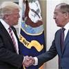 トランプ氏、関係改善に意欲 ロシア外相と会談