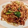 萬来亭の上海焼きそばは甘目の醤油味がクセになる!