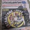 イタリアに行った知り合いにガゼッタ・デロ・スポルトを買ってきてもらいました