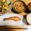 豚肉と小松菜のオイマヨ炒め/切干し大根の煮物 献立