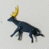 黒い鹿が走るオートマタ からくりダンボールクラフト