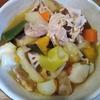 かぼちゃ根菜豚味噌鍋