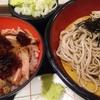 富士そば ミニ和風ローストビーフ丼セット チェーン店です☆彡