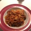 イタリアの腸詰でパスタ