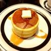 喫茶ピノキオの厚焼きホットケーキ