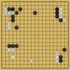 Master対AlphaGoZeroの棋譜10