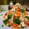 【レシピ】鶏ハムと半熟卵とブロッコリーのサラダ