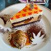 ティーラウンジ・オーキッドのケーキ