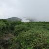 ◆7/29          月山森まで②…ガスが一瞬晴れた!