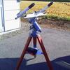 大盛況 手作り望遠鏡スピカ 土星の輪がみえる