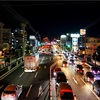 松山南環状線の夜景