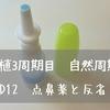 【移植3周期目 自然周期】 D12 点鼻薬と反省