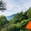 甲斐駒ケ岳キャンプ登山⑨黒戸尾根を下山します