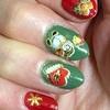 セルフネイル「クリスマスバージョン・デザイン6パターン」