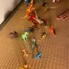 子育て 遊び 恐竜キャンプ