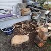 薪割り 良しとしよう Wood splitting