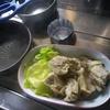 低重心グルーヴストーブ料理実験  [1] 鶏モモ肉グリル【食 旅 ウルトラライト レシピ】