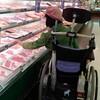 スーパーでの、お買い物。