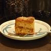 四谷三丁目の「猫廼舎」でカフェオレ、ノワゼットのケーキ。