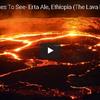 灼熱のマグマ エチオピアの溶岩湖を行く